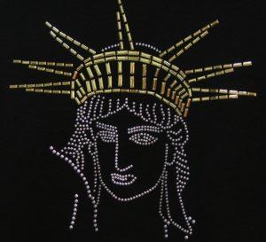 SC143: Swarovski krystallmotiv – Liberty Head