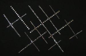 SCA12: Swarovski Krystallmotiv – Crossed Lines