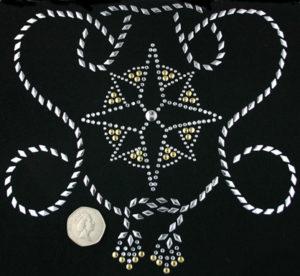 SC181: Swarovski krystallmotiv – Star & Rope