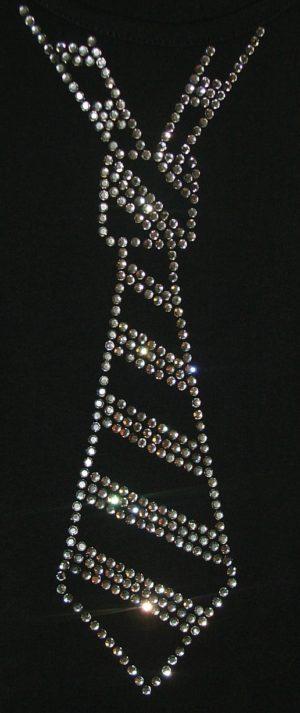 SC191: Swarovski krystallmotiv – Tie