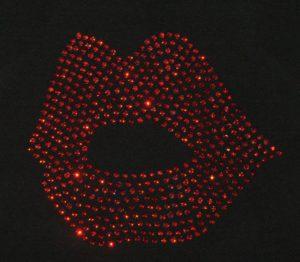 SC315: Swarovski krystallmotiv – Lips