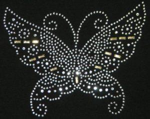 SC334: Swarovski Krystallmotiv – Butterly, Large