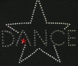 SC345: Swarovski krystallmotiv – Dance (star)