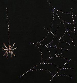 SC383: Swarovski krystallmotiv – Spider & Web