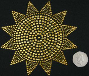SC414: Swarovski Krystallmotiv – Sun