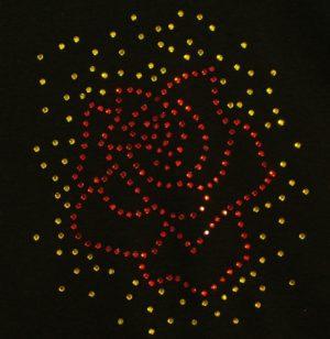 SC418: Swarovski Krystallmotiv – Rose