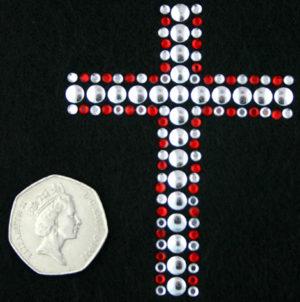 SC423: Swarovski Krystallmotiv – Cross