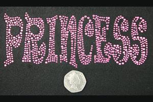 SC471: Swarovski Krystallmotiv – Pink Princess
