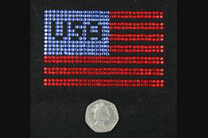 SC473: Swarovski Krystallmotiv – USA Flag