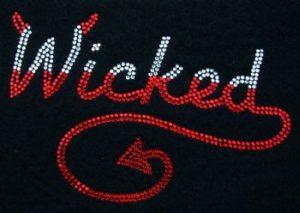 SC716: Swarovski Krystallmotiv – Wicked