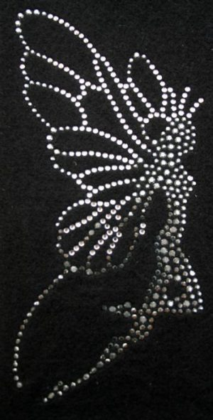 SC717: Swarovski Krystallmotiv – Fairy