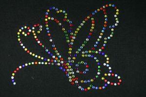SCA10: Swarovski Krystallmotiv – Colored Butterfly