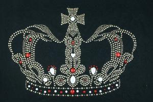 SCA16: Swarovski Krystallmotiv – Gold Crown