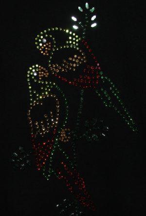 SCA21: Swarovski Krystallmotiv – Parrots