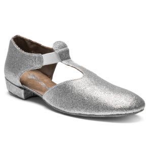 1312-S: Rumpf: Greek Sandal Silver glitter